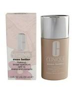 Clinique Even Better Makeup Broad Spectrum Spf15 Evens & Correct Foundat... - $31.80