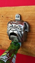 WILLIAMS-SONOMA WALL BULLDOG BOTTLE OPENER –NIB– A BOTTLECAP'S BEST FRIEND! - $39.95