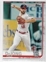 2019 Paul DeJong Topps Series 1 Baseball Card #125 St. Louis Cardinals NM - $2.99