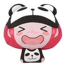 Cute Cartoon Car Pillow Auto Accessories Car Headrest Neck Pillow Comfortable