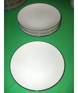 6 Vintage Salad Plates Noritake Ivory-China Montblanc NICE - $64.35