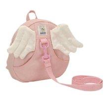 Infant Knapsack Baby Bag Toddler Backpack Prevent from Getting Lose Pink Angel