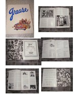 Grease Program Pics Of Chuck Berry Elvis + More - $19.99