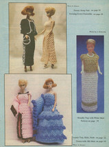 "1984 Crochet Wardrobe for 11 1/2"" Fashion Dolls Special Issue No. 2 HTF - $19.95"