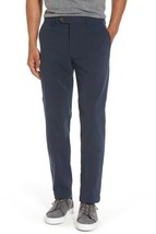 Ted Baker Mens Size 34 R Slim Fit Blue Mini Design Trousers NEW with TAGS - $68.00