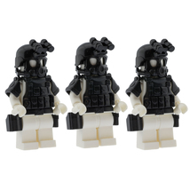Om swat minifigure police army armor compatible for lego set accessories set angle view thumb200
