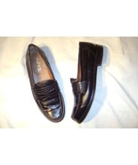 """""""Benil """" Shoes size 9 Euro 43..Black leather loafer - $18.89"""