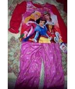 Disney Princess Christmas Pajama Set Girls 5T Belle NEW - $14.00