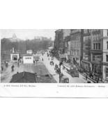 Tremont Street Subway Entrance Boston Mass Vintage Post Card - $6.00