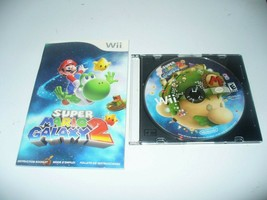 Super Mario Galaxy 2 (Nintendo Wii, 2010) Disc & Manual - $22.65