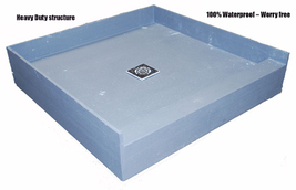 PreFormed Ready to Tile Shower Pan 48 x 36 - $609.99