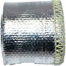 """Heat Shroud Aluminized Sleeving with Hook and Loop Closure 1"""" x 36"""" (3ft) image 2"""