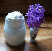 Soothing Post-Sun Organic Tallow Coconut & Aloe Vera 8oz Whipped Skin Cream 100% - $29.99