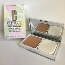 Clinique Acne Solutions Powder Makeup 15 Beige (M-N) Large Full Size NIB Mirror - $17.71