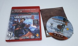 Uncharted 2 Among Thieves for the PS3 PlayStation 3 Used Complete Greate... - $3.89