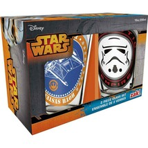 Zak Designs SWRD-R190 Star Wars Ep4 Glass Tumbler 2 Piece Gift Box, 10 oz - $14.84