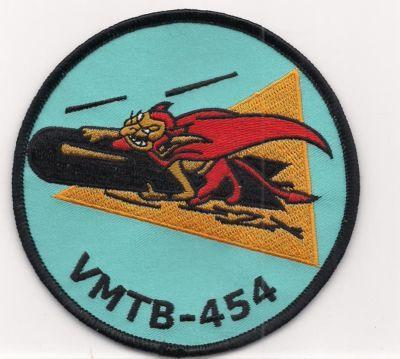 Primary image for USMC VMB / VMTB-454 Bomber Torpedo Bomber Squadron WWII style Patch