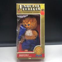 1983 FABULOUS FELINES MEGO ACTION FIGURE Phoenix toys cat plush Broccoli... - $222.75