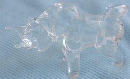 Beautiful mini crystal bull image 1