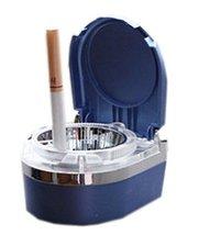 PANDA SUPERSTORE Portable Stainless Auto Car Cigarette Ashtray LED Cigarette Ash