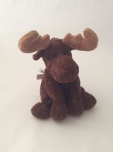 "Mary Meyer Sweet Rascals Brown Moose 9"" Plush - $11.29"