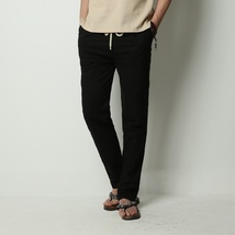 Men's Comfort Linen Casual Loose Pants image 5