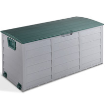 NEW! Outdoor Patio Garage Storage Box Tool Bench Container 70 Gallon - $112.05 CAD