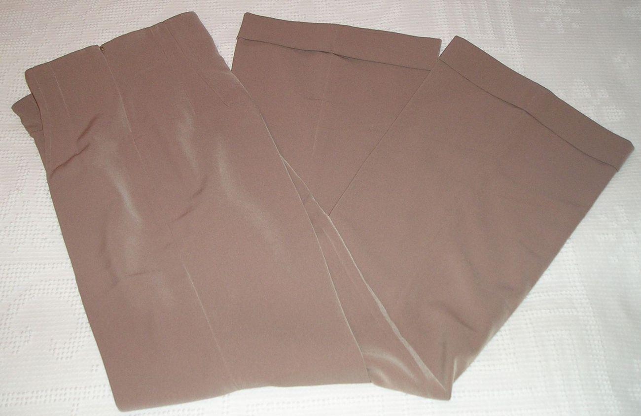 NEW! NEWPORT NEWS Women's Beige Dress Pants Size 8 / M Medium  image 4