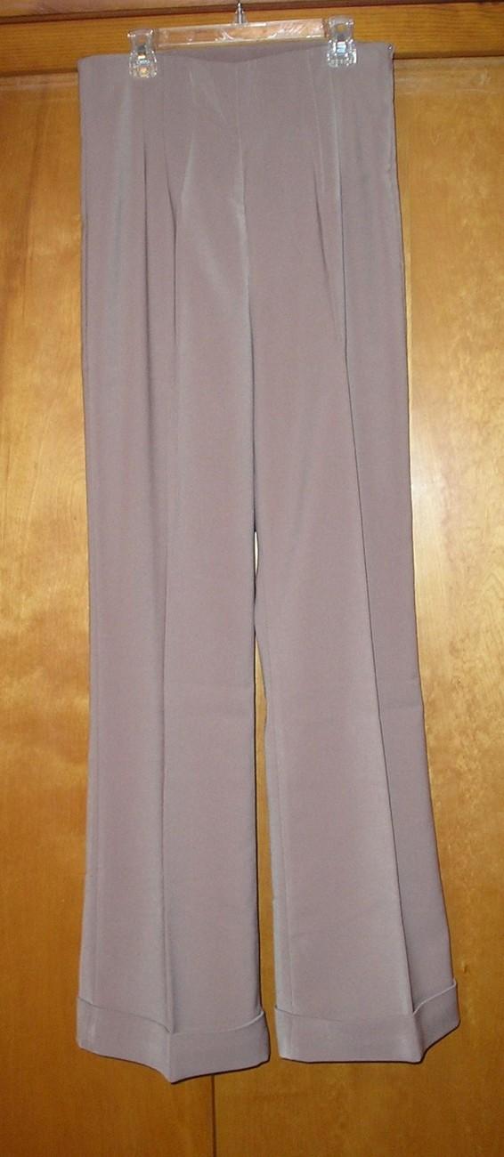 NEW! NEWPORT NEWS Women's Beige Dress Pants Size 8 / M Medium  image 3