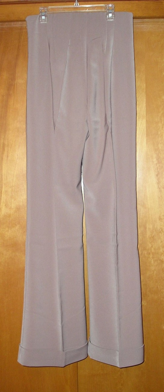 NEW! NEWPORT NEWS Women's Beige Dress Pants Size 8 / M Medium  image 6