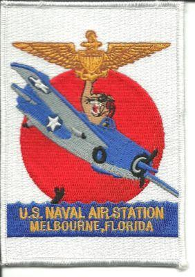 Primary image for US Navy US Naval Air Station Melbourne Florida Patch