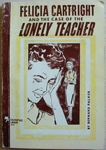 Felicia Cartright and the CASE OF THE LONELY TEACHER Bernard Palmer pb M... - $6.00