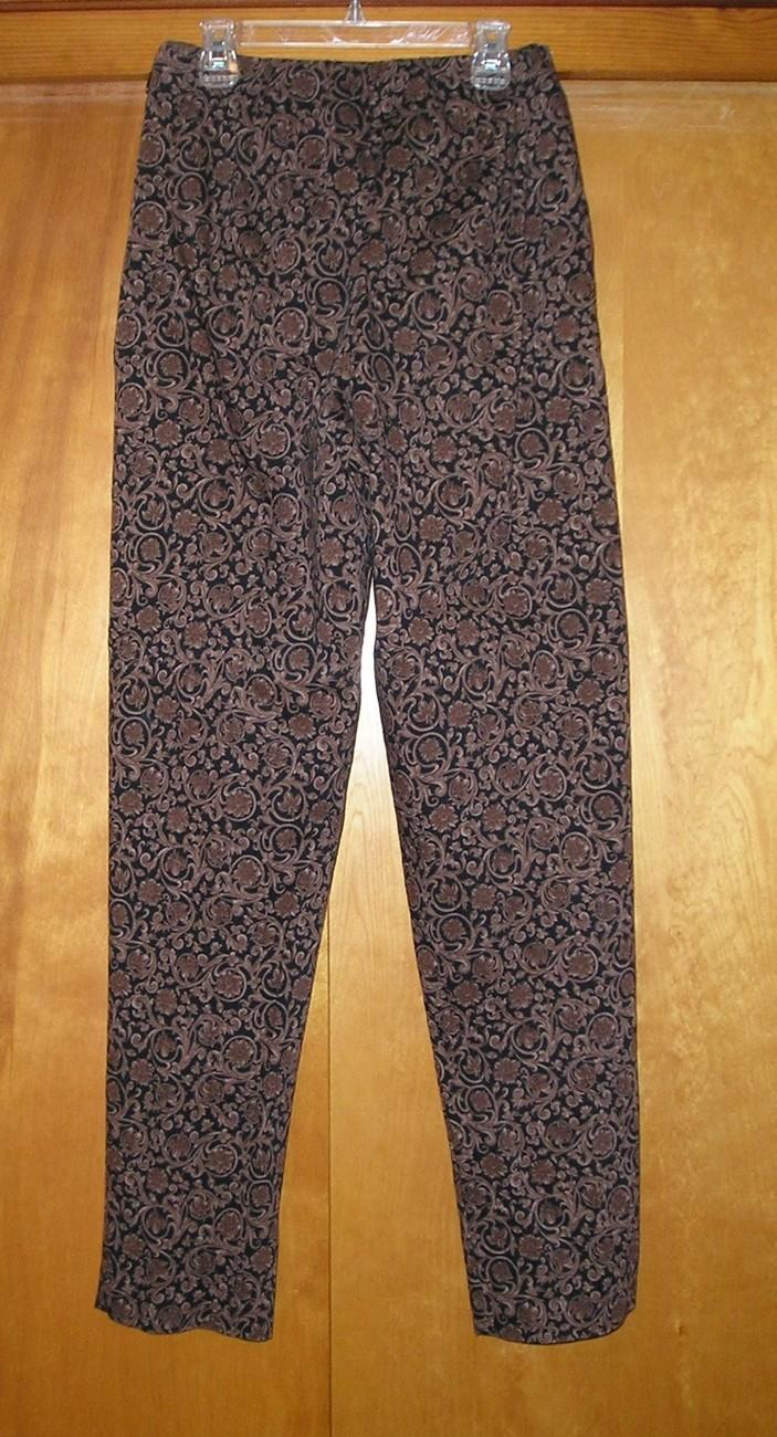 CENTRAL FALLS Women's Brown/Black Pants M (Medium) / 6 - 8 image 4