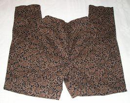 CENTRAL FALLS Women's Brown/Black Pants M (Medium) / 6 - 8 image 2