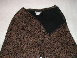 CENTRAL FALLS Women's Brown/Black Pants M (Medium) / 6 - 8 image 5