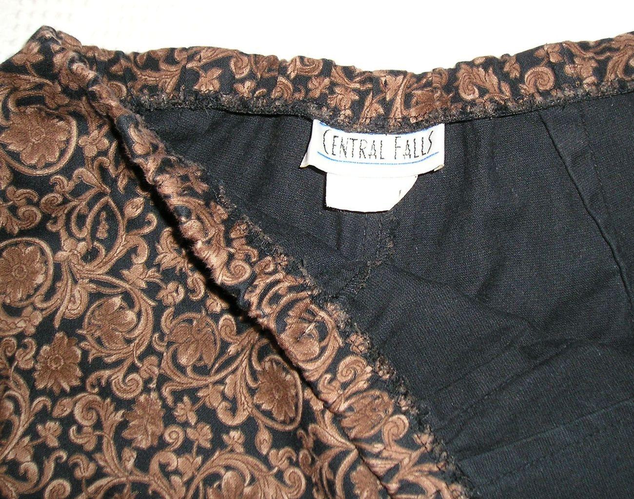 CENTRAL FALLS Women's Brown/Black Pants M (Medium) / 6 - 8 image 3