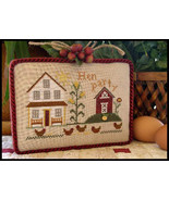Hen Party cross stitch chart Little House Needleworks - $5.40