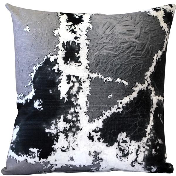 Pillow Decor - Granite Steps Throw Pillow 19x19