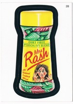 2005 Topps Wacky Packages Series 2 Mrs. Rash Trading Card 28 ANS2 - $5.99