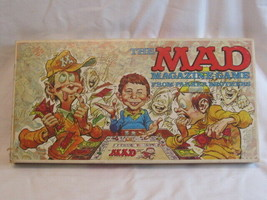 Vintage Parker Brothers 1979 Mad Magazine Board Game Complete - $25.00