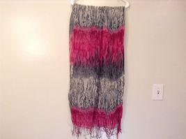 New fashion scarf shibori water color style in choice of color scheme image 4