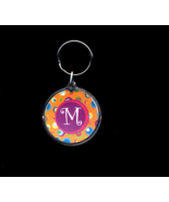 FREE WITH PURCHASE~M two sided Key Ring - $0.00