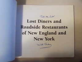 SIGNED Will Anderson Lost Diners & Roadside Restaurants Book image 2