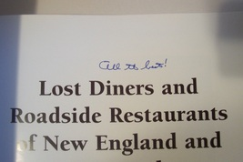 SIGNED Will Anderson Lost Diners & Roadside Restaurants Book image 5