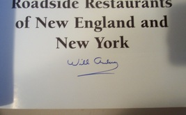 SIGNED Will Anderson Lost Diners & Roadside Restaurants Book image 3