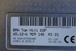 BMW Top Hifi DSP Logic 7 Amplifier Amp 65.12-6 929 140 Herman Becker image 8