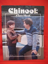 Chinook Family Knitting Patterns Sweaters Vests Pullovers  image 1