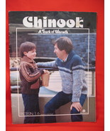 Chinook Family Knitting Patterns Sweaters Vests Pullovers  - $7.99