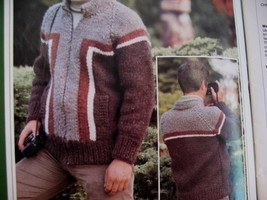 Chinook Family Knitting Patterns Sweaters Vests Pullovers  image 3
