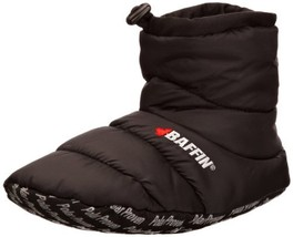 Baffin Unisex Cush Insulated Slipper Booty,Black,X-Large Men's 9-10 M US... - $45.31